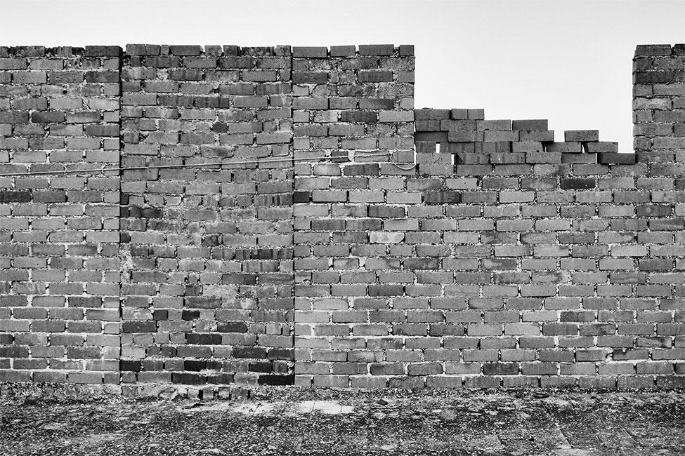 muro inacabado